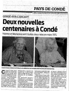 Article centenaires